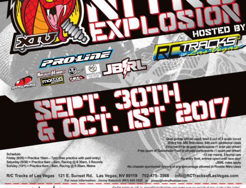 14th Annual Sidewinder Nitro Explosion – Sept 30th – Oct 1st 2017