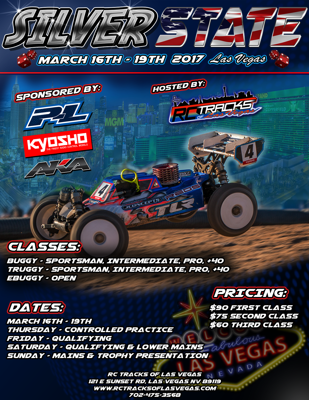 SilverState 2017 – March 16th – 19th